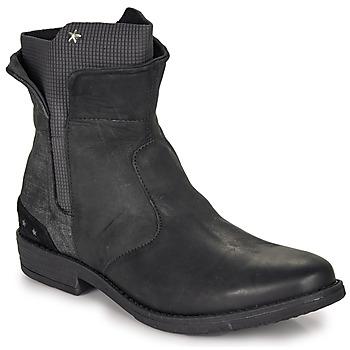 kengät Tytöt Bootsit Ikks PAMELA Black