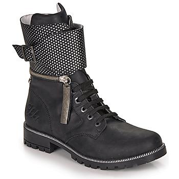 kengät Tytöt Saappaat Ikks PEGGY Black