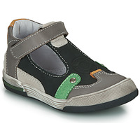kengät Pojat Sandaalit ja avokkaat GBB PERCEVAL Black / Grey