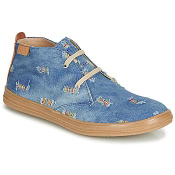 kengät Tytöt Korkeavartiset tennarit Achile ANDREA Blue