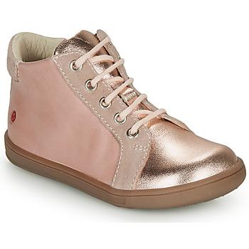 kengät Tytöt Korkeavartiset tennarit GBB FAMIA Pink