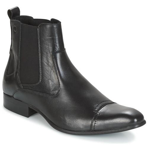 kengät Miehet Bootsit Carlington RINZI Musta