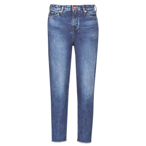 vaatteet Naiset Boyfriend-farkut Armani Exchange 6GYJ16-Y2MHZ-1502 Sininen
