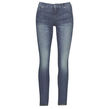 vaatteet Naiset Slim-farkut Armani Exchange 6GYJ25-Y2MKZ-1502 Blue