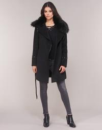 vaatteet Naiset Paksu takki Moony Mood LITEA Black