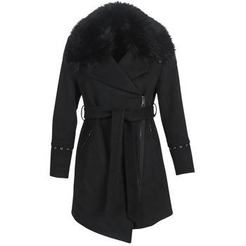 vaatteet Naiset Paksu takki Moony Mood LITEA Musta