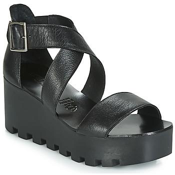 kengät Naiset Sandaalit ja avokkaat Sweet Lemon SUBWAY Black