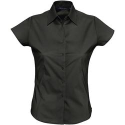 vaatteet Naiset Paitapusero / Kauluspaita Sols EXCESS CASUAL WOMEN Negro