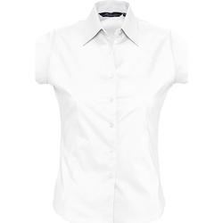 vaatteet Naiset Paitapusero / Kauluspaita Sols EXCESS CASUAL WOMEN Blanco