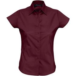 vaatteet Naiset Paitapusero / Kauluspaita Sols EXCESS CASUAL WOMEN violeta