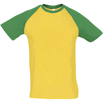 vaatteet Miehet Lyhythihainen t-paita Sols FUNKY CASUAL MEN Multicolor