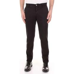 vaatteet Miehet 5-taskuiset housut Mason's MILANO-CBE024 Nero