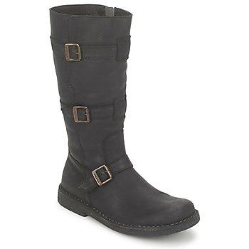 kengät Naiset Saappaat Kickers LOCKNESS Black