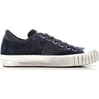 kengät Naiset Matalavartiset tennarit Philippe Model GRLD EV01 blu