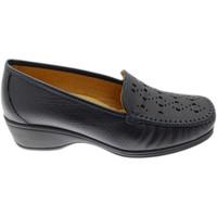 kengät Naiset Mokkasiinit Calzaturificio Loren LOK4002bl blu