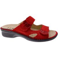 kengät Naiset Sandaalit Calzaturificio Loren LOM2772ro rosso