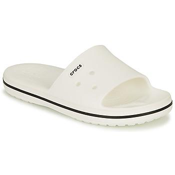 kengät Sandaalit ja avokkaat Crocs CROCBAND III SLIDE Valkoinen