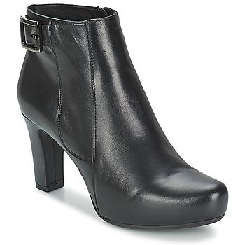 kengät Naiset Nilkkurit Unisa NAPUR Black