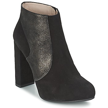 kengät Naiset Nilkkurit Unisa SAFIR Black