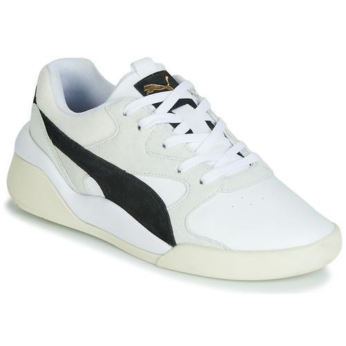 kengät Naiset Matalavartiset tennarit Puma AEON HERITAGE White / Black