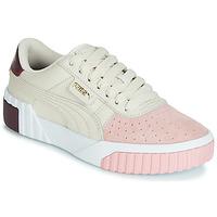 kengät Naiset Matalavartiset tennarit Puma CALI REMIX White / Pink