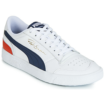 kengät Miehet Matalavartiset tennarit Puma RALPH SAMPSON LO White / Blue / Red