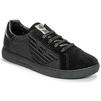 kengät Miehet Matalavartiset tennarit Emporio Armani X4X279-XM035-A085 Black