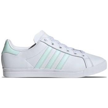 kengät Naiset Matalavartiset tennarit adidas Originals Coast Star Valkoiset