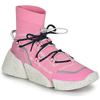 kengät Naiset Korkeavartiset tennarit Kenzo K SOCK SLIP ON Pink
