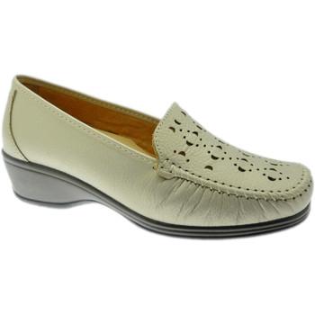 kengät Naiset Mokkasiinit Calzaturificio Loren LOK4002be rosso
