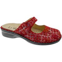 kengät Naiset Sandaalit Calzaturificio Loren LOM2709ro rosso