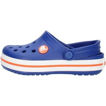 kengät Lapset Puukengät Crocs 204537 Blue and orange
