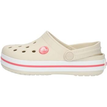 kengät Lapset Puukengät Crocs 204537 Stucco / melon