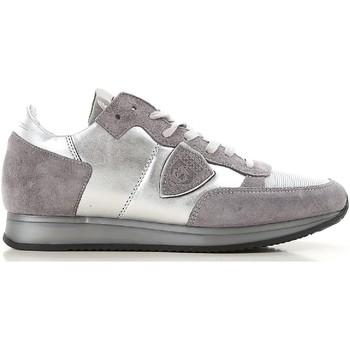 kengät Naiset Matalavartiset tennarit Philippe Model TRLD ME02 argento