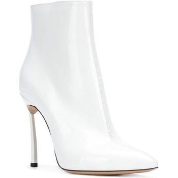 kengät Naiset Bootsit Casadei 1Q618L100TRAIN900 bianco