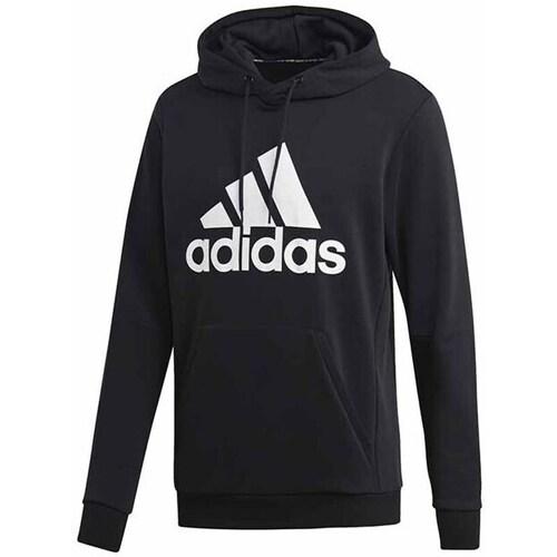 vaatteet Miehet Svetari adidas Originals MH Bos PO FT Mustat