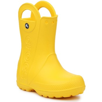 kengät Lapset Kumisaappaat Crocs Handle It Rain Boot Kids 12803-730 yellow
