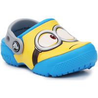 kengät Lapset Puukengät Crocs Crocsfunlab Minions Clog 204113-456 yellow, blue