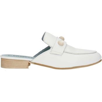 kengät Naiset Puukengät Albachiara NC74 White