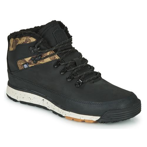 kengät Miehet Bootsit Element DONNELLY Black / Camouflage