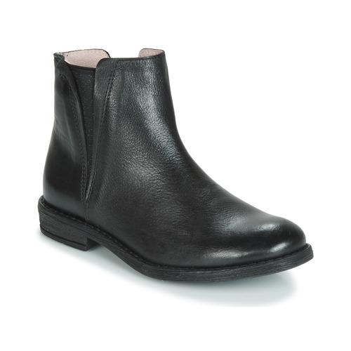 kengät Tytöt Bootsit Acebo's 9671-NEGRO-T Black
