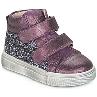 kengät Tytöt Korkeavartiset tennarit Acebo's 5299AV-LILA-C Violet