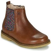 kengät Tytöt Bootsit Acebo's 5274-CUERO Brown