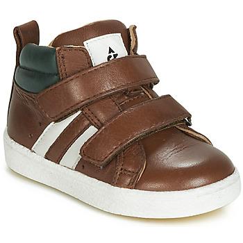 kengät Pojat Korkeavartiset tennarit Acebo's 3040-CUERO-C Ruskea