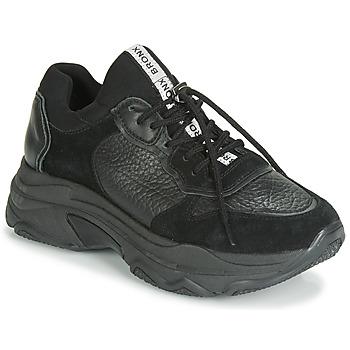 kengät Naiset Matalavartiset tennarit Bronx BAISLEY Black