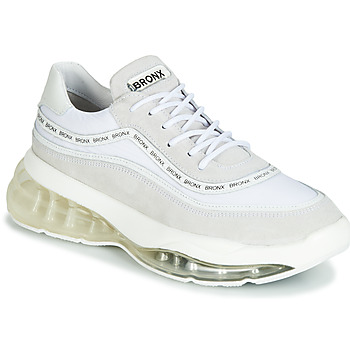 kengät Naiset Matalavartiset tennarit Bronx BUBBLY White