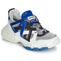kengät Naiset Matalavartiset tennarit Bronx SEVENTY STREET White / Black / Blue