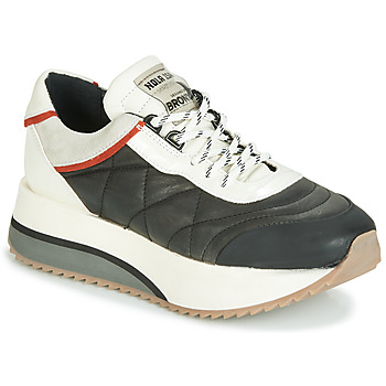 kengät Naiset Matalavartiset tennarit Bronx NOLA ISA Black / Grey