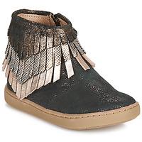 kengät Tytöt Bootsit Shoo Pom PLAY HURON Black / Hopea