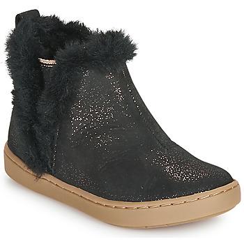 kengät Tytöt Bootsit Shoo Pom PLAY YETI Black